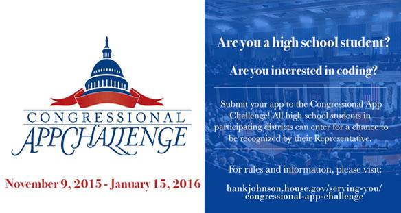 Rep. Johnson launches student app challenge  feature image